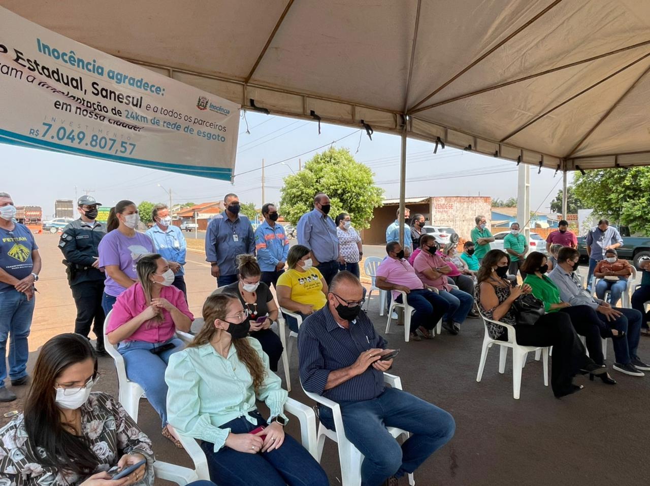 Sanesul autoriza R$ 7 milhões em obras de esgotamento em Inocência
