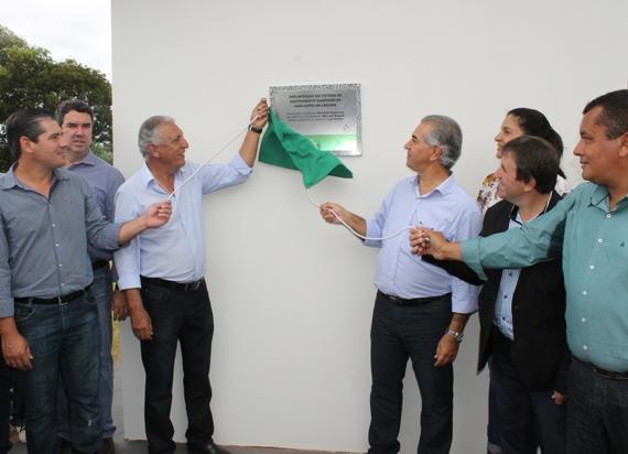 Inauguração do Sistema de Esgotamento Sanitário