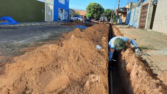 Sanesul padroniza rede de água em Coxim