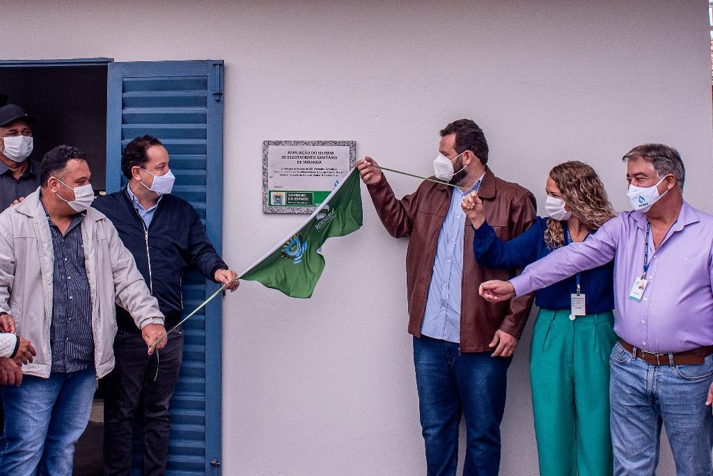 Sanesul inicia 'Rota do Saneamento' com entrega de obras em todo Estado de MS