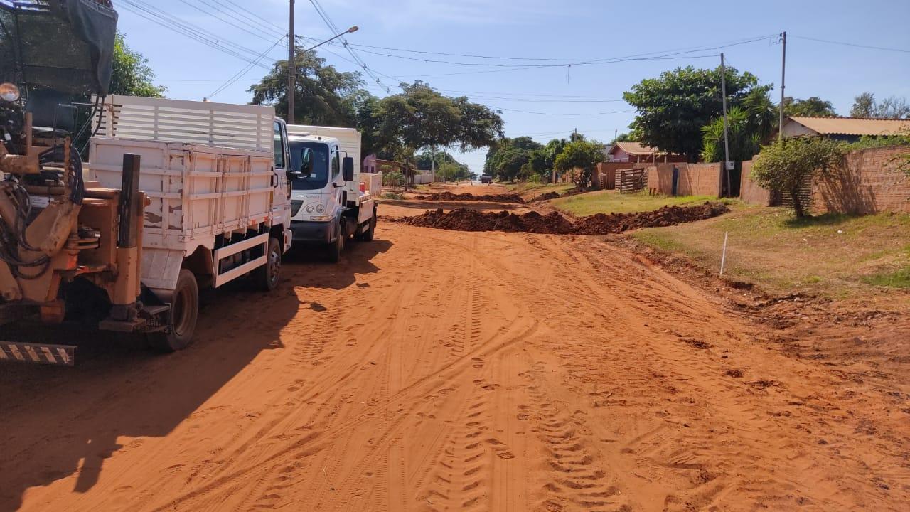 Sanesul faz melhorias na distribuição de água em Ivinhema